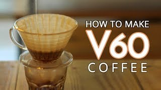 How to Brewing Coffee V-60