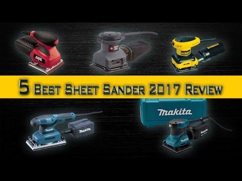 5 Best Sheet Sander 2017 Review | Best Palm Sander | Best Sander for Furniture in Budget