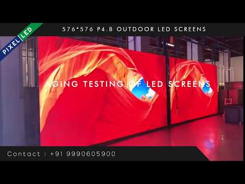 P4.8 Stage LED Display Screen For Outdoor Concert