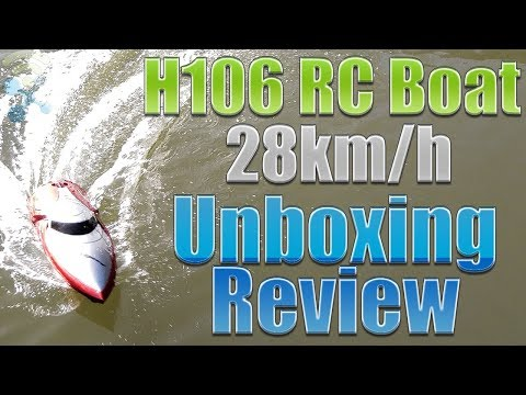 H106 RC Boat : Unboxing & Review