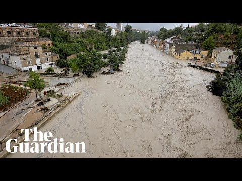 Extreme rainfall triggers flooding in parts of Spain