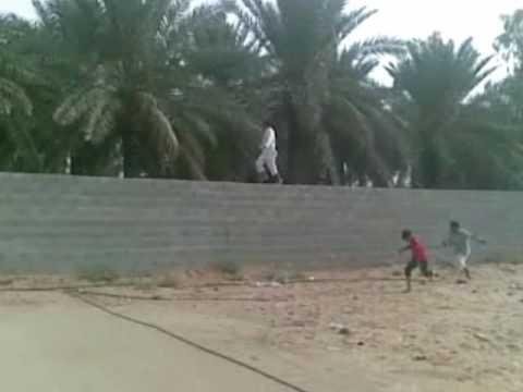 الركض فوق الجدار