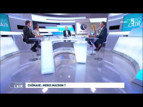 Chômage : merci Macron ? #cdanslair 14.08.2019