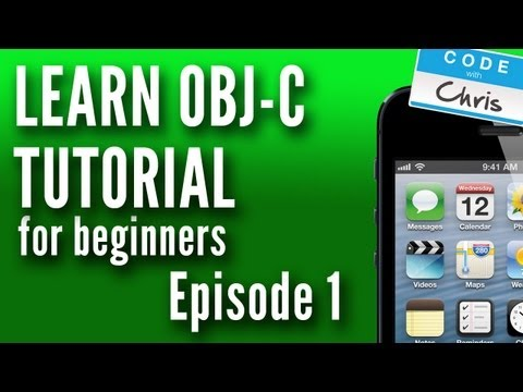 Objective C Tutorial For Beginners – Episode 1 – Variables