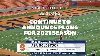 Star College Seniors Continue To Announce Plans For 2021 Season