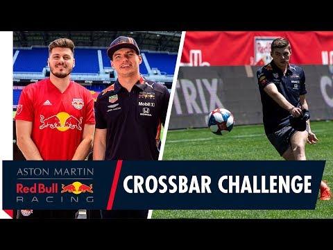 Max Verstappen's New York Red Bulls Crossbar Challenge