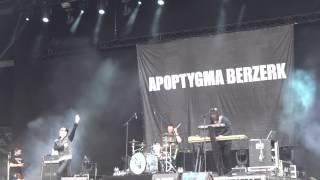 Apoptygma Berzerk - Fade to black (live at Mera Luna 2015)