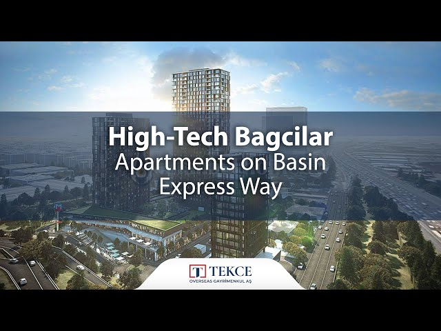 Comfortable Flats in Bagcilar Istanbul with Smart Home System