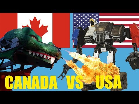 Canada Challenges USA to a Giant Robot Duel - under one condition: the fight is LIVE