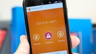 Using Motorola Alert to send emergency messages