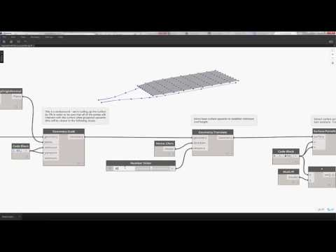 Autodesk Dynamo Studio - Roof Surface