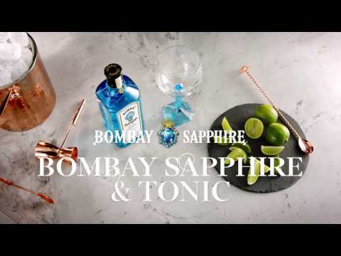 Bombay Sapphire Gin garrafa 70 cl