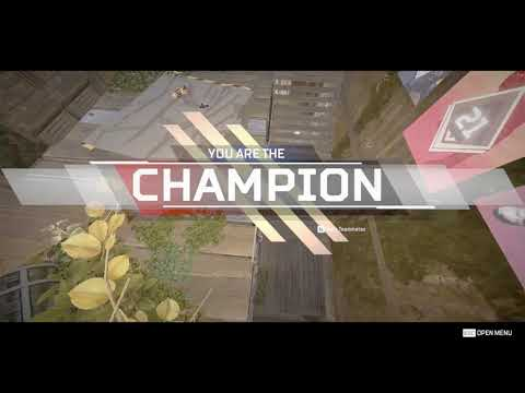 ''You are the champion'' - apex legends montage