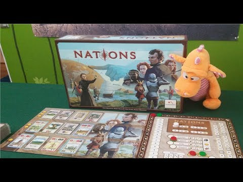 Nations (+Dynasties expansion) - Gameplay Runthrough - Part 1
