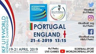 IKF U19 WKC 2019 POR – ENG