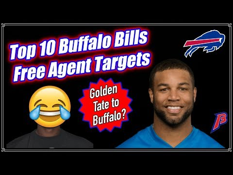 10 Free Agents the Buffalo Bills MUST target this Offseason    Offseason Discussion