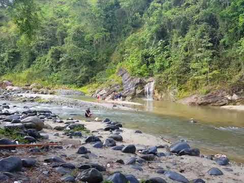 Rio de republique dominicana maomita en los cacao de San cristobal