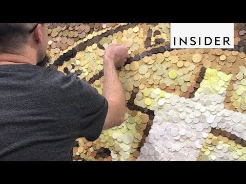 Making Massive Mosaics from Tiny Sculptures