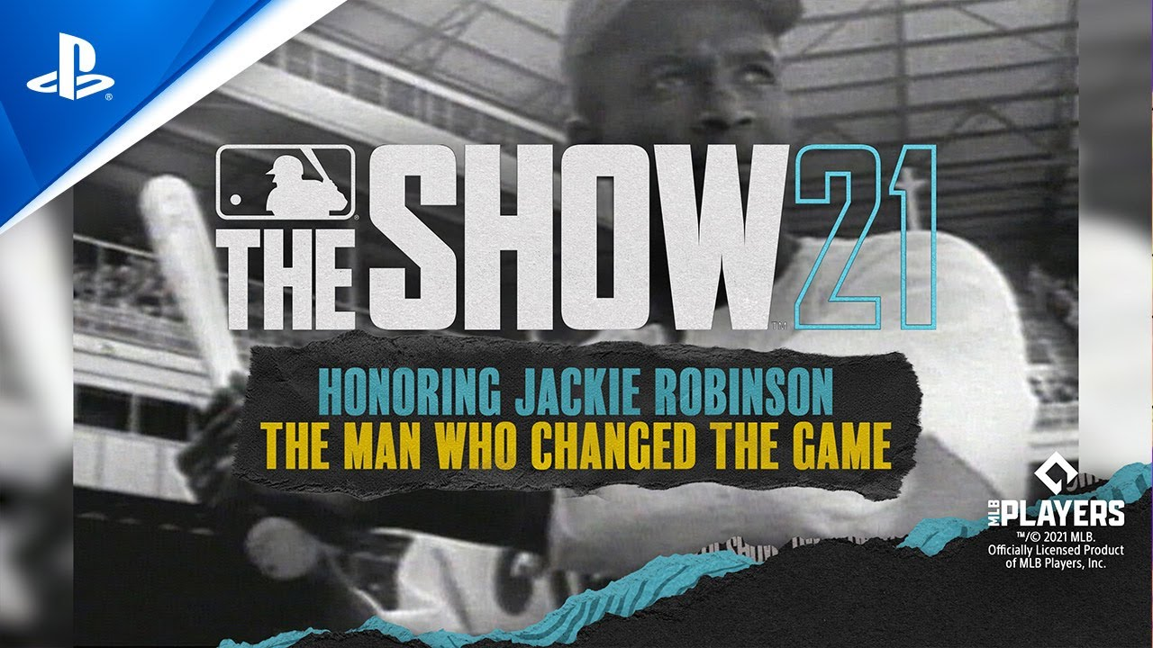 Jackie Robinson graces the cover of MLB The Show 21 Collector's Editions