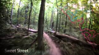 A full lap of The Hydrocut Mountain Bike trail.