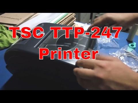TSC TTP-247 Series Desktop Barcode Printers