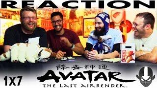 "Avatar: The Last Airbender 1x7 REACTION!! ""Winter Solstice Part 1: The Spirit World"""