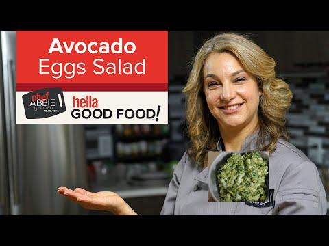 Healthy Egg Salad with Avocado