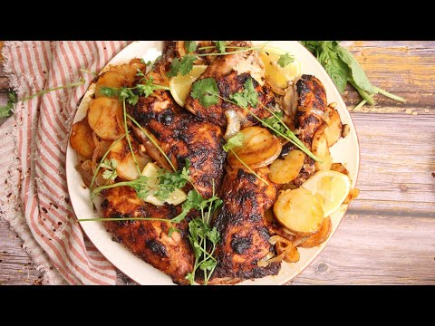 Portuguese Inspired Roast Chicken