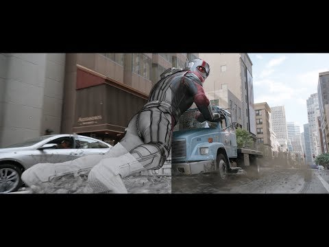 Ant-Man and the Wasp | VFX Breakdown by DNEG (2018).