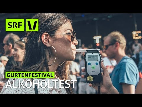 Gurtenfestival: Wer wagt den Alkoholtest? | Festivalsommer 2018 | SRF Virus