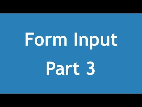 تعلم HTML5 القائمة #1 الفديو #20