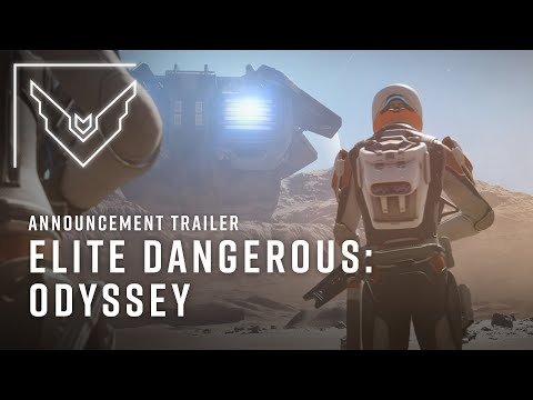 Elite Dangerous: Odyssey | Announcement Trailer