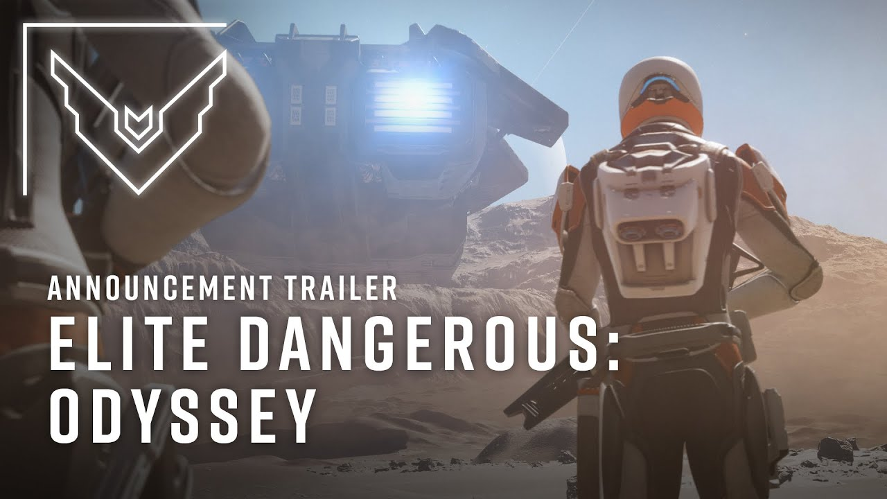 Elite Dangerous: Odyssey Announced, Coming 2021