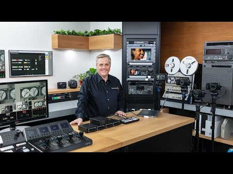 RT @Blackmagic_News: Live Production and Camera Update