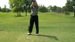 preview picture of video '136 端午节 Shanghai Golf Club No.6 480Y Par5'