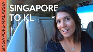 Singapore to Kuala Lumpur by bus + Malaysia immigration: ALL DETAILS