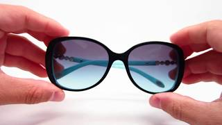 Tiffany & Co TF 4121-B 80559S Sunglasses Review Unboxing