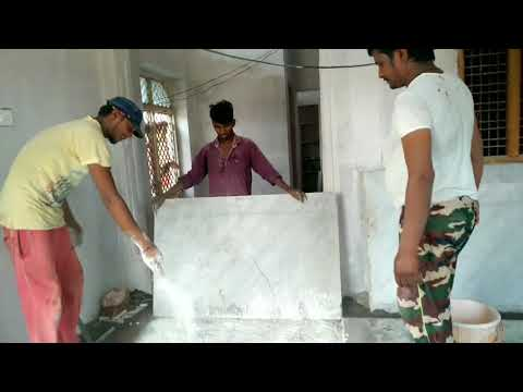 How to Marble flooring install