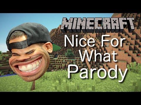 Drake - Nice For What (MINECRAFT PARODY)