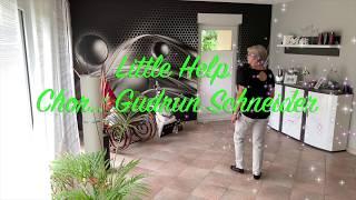 LITTLE HELP   LINE DANCE (Gudrun Schneider  DE)