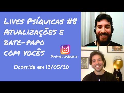 Lives Psíquicas #8 Atualizações e bate-papo com vocês (ocorrida em 13/05/20)