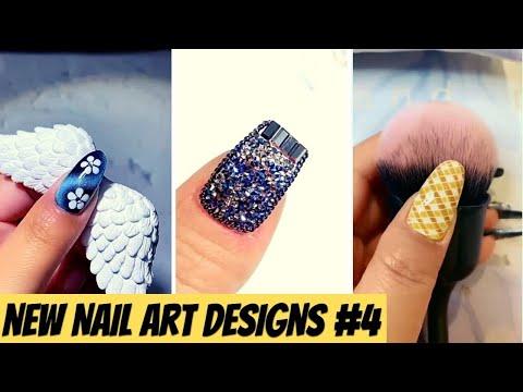 New Nail Art Designs Compilation # 4 New Nail Art 2021  The Best Nail Art Designs Compilation