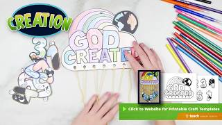 Creation Bible Crafts For Kids