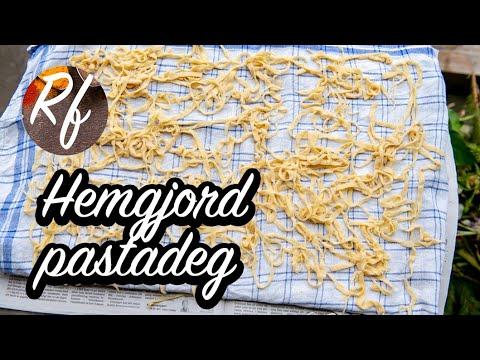 Hemgjord pastadeg till färsk hemlagad pasta. Gör egen deg till tagliatelle med Ragu alla Bolognese, ravioli, Strozzapreti, lasagne, tortelloni eller tortellini.>