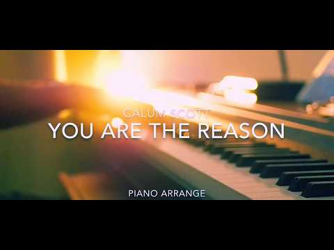 You Are The Reason / Calum Scott (Piano Cover)