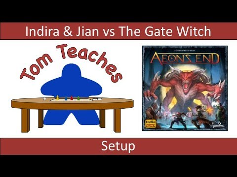 Aeon's End: The Gate Witch (Solo Setup)