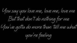 I feel your love lyrics