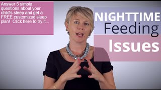 How to Handle Nighttime Feeding Issues with Children
