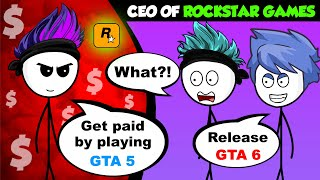 What if a Rich Gamer becomes CEO of Rockstar Games