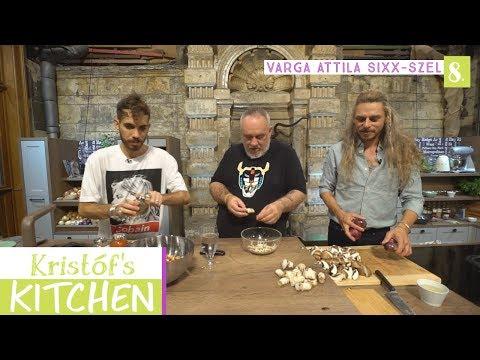 Kristóf's Kitchen in The Studios - vegán főzős talkshow - 8. rész - Varga Attila Sixx-szel